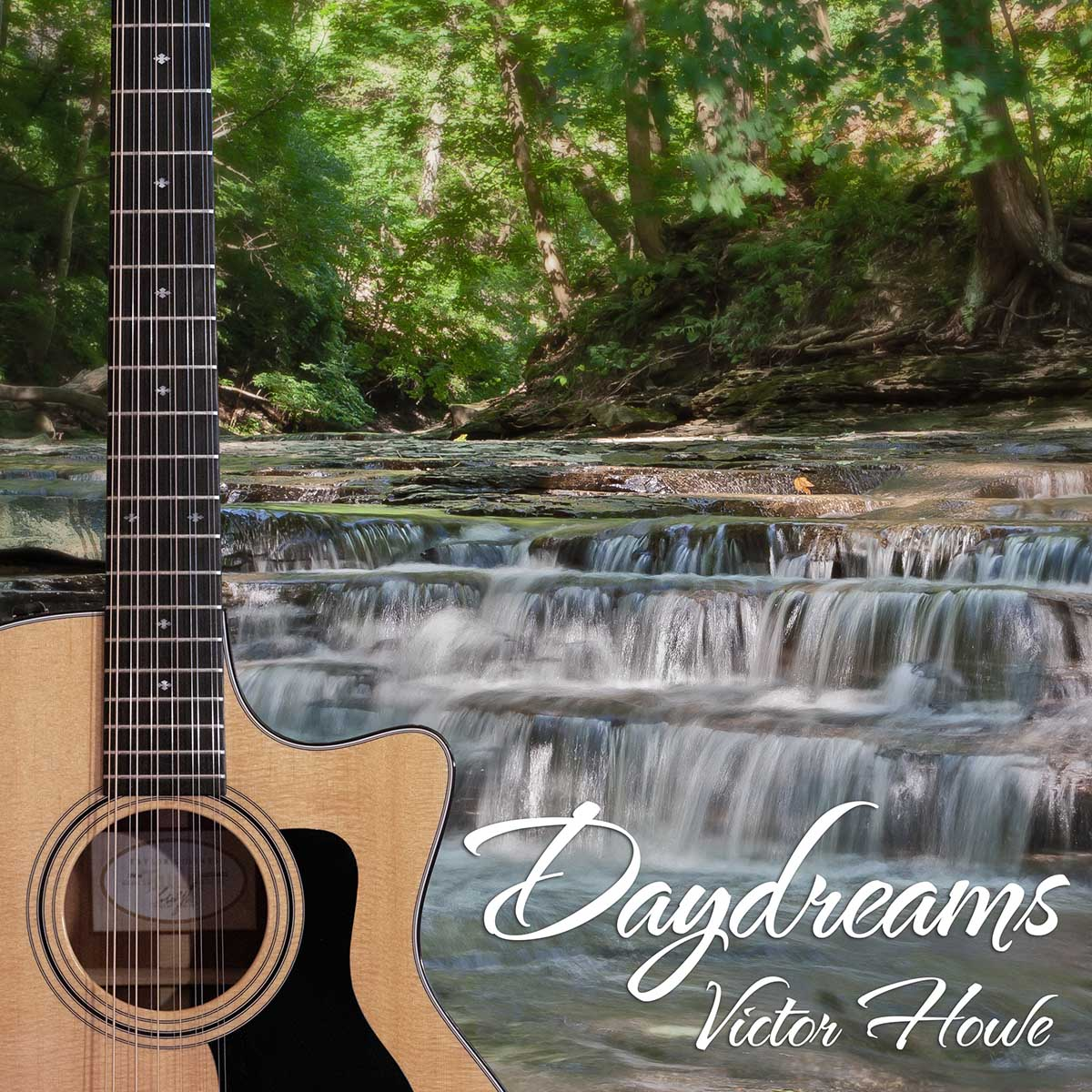 Daydreams by Victor Howe 12-string Acoustic Guitar Instrumentals